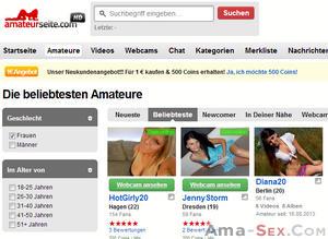 amateurseite.com ist der Gewinner
